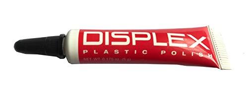 Displex Plastic Polish Revitalizer Scratch Remover for Cell Phone LCD Screens w/Microfiber Cloth