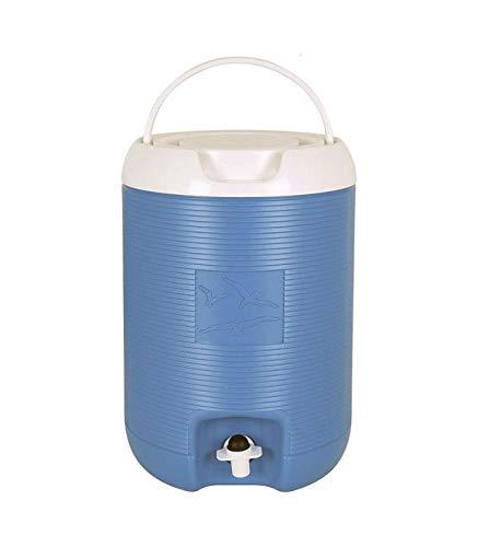 AQUAPRO Bidon Termico con Grifo 8 L Azul, Multicolor, Talla única