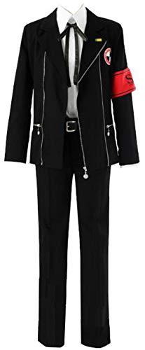 Poetic Walk Shin Megami Tensei Persona 3 Cosplay Costume Yuuki Makoto School Uniform Custom (Medium, Mens)