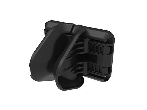 Hiplok Unisex– Erwachsene JAW Fahrradhalterung, All Black, 20-75mm tyre Width