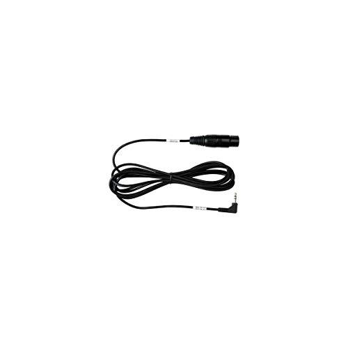 Sescom Sescom SES-TR-153 Female XLR to RA 3.5mm 1 8 Pro DSLR Mic Cable, 10 Ft