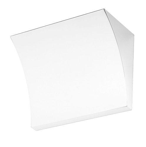 FLOS - Lampada da Parete, Design Pochette, Colore: Bianco Lucido