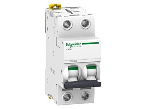 Schneider Electric A9F79225 Interruptor Automático Magneto Térmico Ic60N 2P 25A Curva C