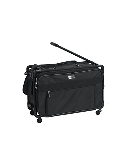 TUTTO 22 Inch Maximizer Carry-On Suiter, Black, One Size -  TUTTO Luggage, 4022BST