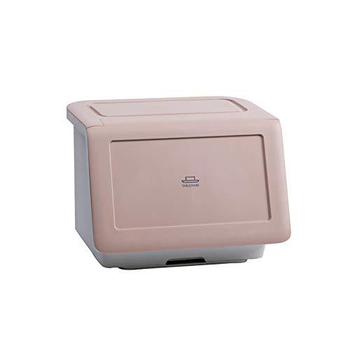 LYzpf Abtropfhalter Abtropfgestell Multifunktion Mit Deckel Küchenhelfer Geschirrständer Geschirrabtropfer Abtropfregal Geschirr Abtropfständer für Besteck Teller,pink
