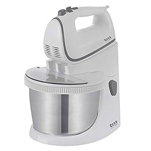 TM Electron TMPBA111 TMPBA111-Batidora Amasadora para repostería con 5 velocidades, 2 varillas y 2 ganchos para amasar, 450 W, Plástico: Amazon.es: Hogar