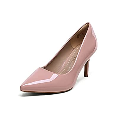 DREAM PAIRS Women's Kucci Classic Fashion Pointed Toe High Heel Dress Pumps Shoes