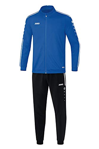 JAKO Kinder Striker 2.0 Trainingsanzug Polyester, royal/Weiß, 128
