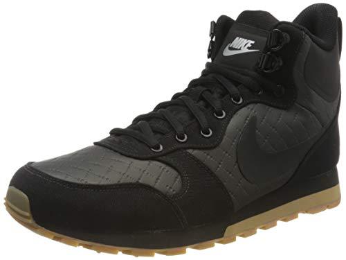 Nike Damen Sneaker Runner 2 Mid Trekking- & Wanderstiefel, Schwarz (Black/Black/Gum Light Brown 004), 41 EU