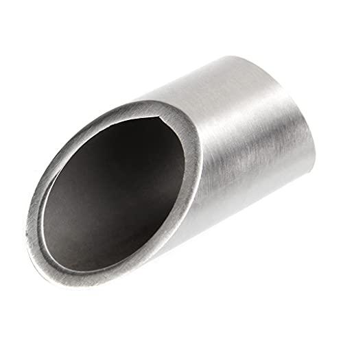 Barra de dedo de acero inoxidable diapositivas de diapositivas de dedo plateado...
