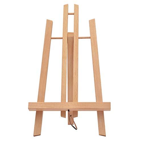 XXHDEE Opvouwbare schildersezel, hout, klein schildersezel, schilderijlijst, statief, mini-schildersezel, schets, display, schildersezel, 28 x 18 x 16 cm
