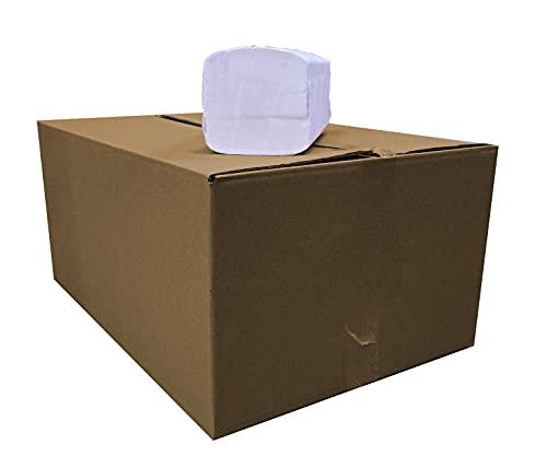 Netuno ZZ Zickzack 20 x 150 fogli, 3.000 fogli di carta per dispenser asciugamani, asciugamani di carta bianca, 2 strati, 2 lg, morbidi e morbidi al tatto, per la pulizia delle mani