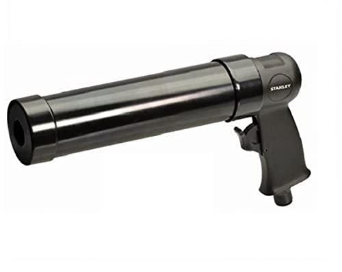 Pistola neumática Stanley de aire comprimido para cartuchos de masilla y silicona.