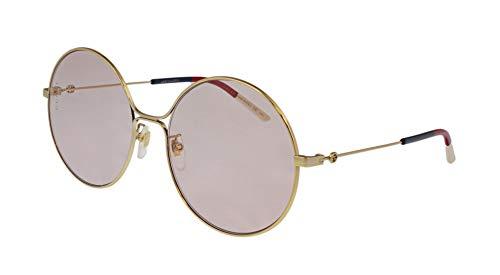 Gucci Occhiale da sole Donna GG0395s col.004 58 20 140 lente rotonda rosa infrangibile 25%