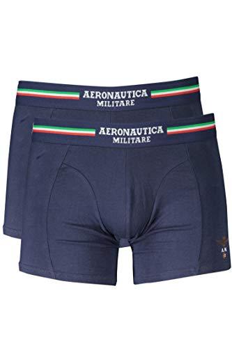 Aeronautica Militare SCOBX002J508 Boxer Homme Bleu 08184 XL