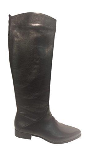 OTTO KERN 80317 Stiefel Nero SCHWARZ Damen Leder Tropfenform (37)