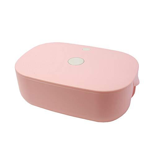 MYXMY Bragas de la Ropa Interior del esterilizador UV Esterilización Desinfección Secador de Ropa Interior de Secado del hogar Pequeño Secadora (Rosa, Blanco) (Color : Pink)