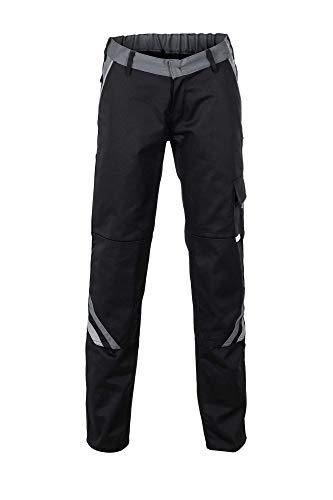Planam Größe 44 Damen Highline Damen Bundhose schwarz Schiefer Zink Modell 2718