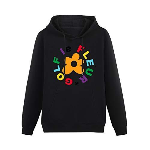 Ofwgkta Golf Le Fleur Hoodies Pullover Long Sleeve Sweatshirts Black M