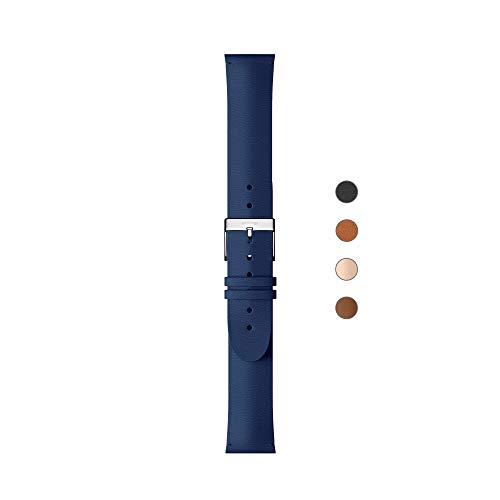 Withings Premium Lederarmband für ScanWatch, Steel HR, Steel HR Sport, Move ECG, Move und Steel