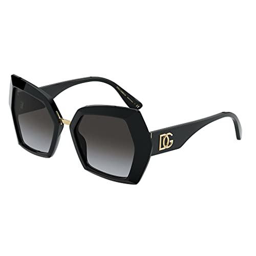 Dolce & Gabbana occhiale da sole DG4377 501/8G BLACK Nero grigio taglia 54 mm Donna