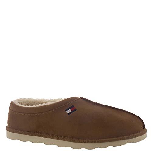 Tommy Hilfiger Men's Wisco2 Slipper, Medium Brown 210, 11.5