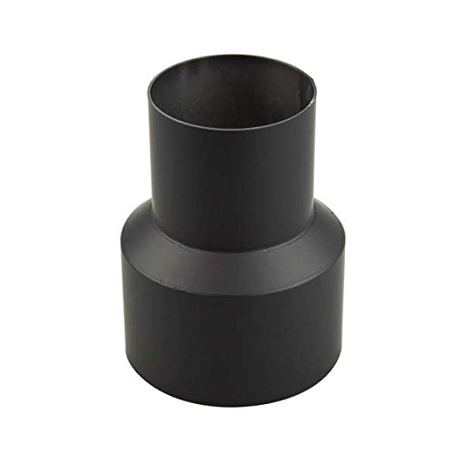 Ofenrohr Reduzierung 150 mm > 110 mm Schwarz