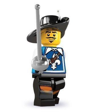 LEGO 8804 Minifigures Serie 4 - Minifigura de Mosquetero