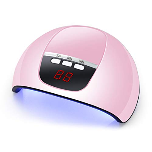 Lechnical 54W UV Nail Lamp Nail Dryer Mini Lamp for Nails Manucure UV Gel Timing Machine