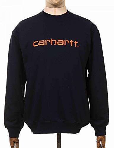 Carhartt Felpa Uomo Blu I027092