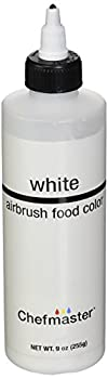 Chefmaster Airbrush Spray Food Color 9-Ounce White