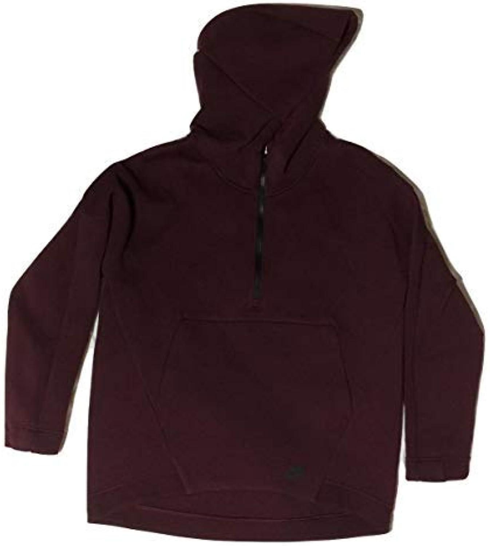 Nike W NSW Tch FLC Hoodie Po DWR - Sweatshirt Damen, Farbe