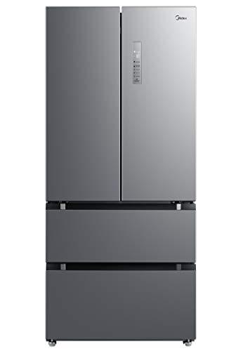 Midea KF 6.2 XL Kühl-Gefrier-Kombination French Door/A++/189,8 cm/333 kWh/Jahr/ 335 L Kühlteil/165 L Gefrierteil/No Frost/Inverter-Kompressoren/ AllAround Cooling