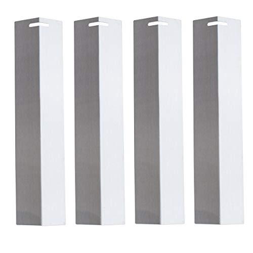 TAINO Basic Set Brennerabdeckung Edelstahl Tropfschutz Flammenverteiler (Basic 4er Set)