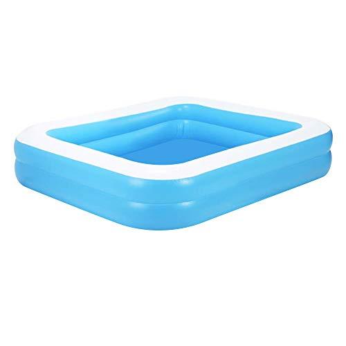 Piscina hinchable de lujo, piscina infantil Family Ocean Ball, piscina infantil plegable, de PVC, duradera, para familia, jardín, exterior, 110 x 88 x 33 cm