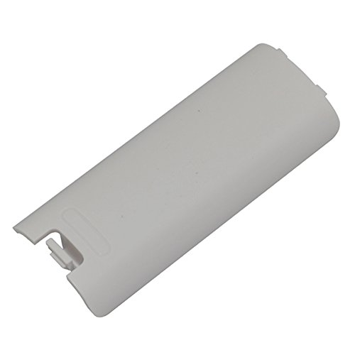 Cinpel Replacement Remote Controller Battery Cover for Nintendo Wii White