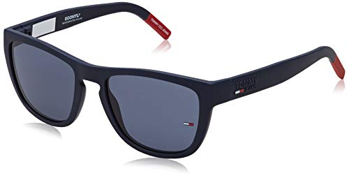 Tommy Hilfiger TJ 0002/S Gafas de Sol, MTT Azul, 54 Unisex Adulto