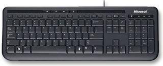 Microsoft Wired Keyboard 600, UK Layout - Black