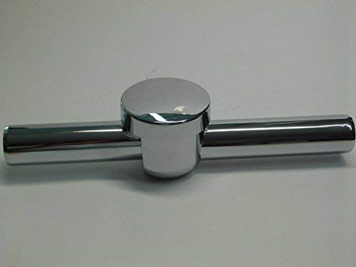 ABS Wandrohr DN 32 mit Rückflussverhinderer für Siphon verchromt