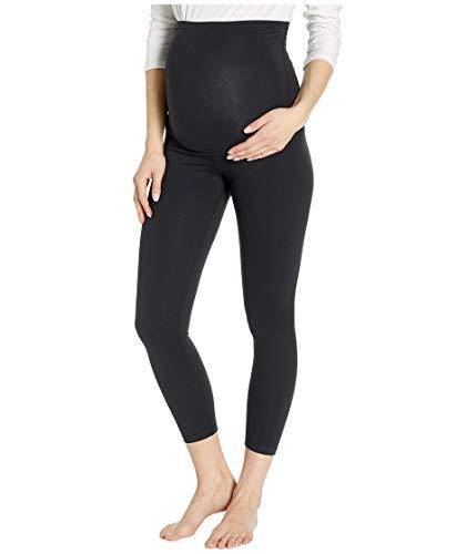 Beyond Yoga Women's Maternity Empire Waisted Capri Leggings Jet Black Large 22