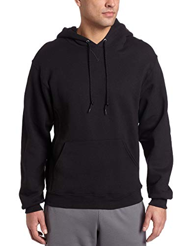 Russell Athletic Men's Dri-Power Pullover Fleece Hoodie, Black, X-Large