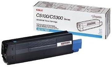 Oki 42127403 OEM Toner - C5100 C5150 C5200 C5300 C5400 C5510 MFP Series High Yield Cyan Toner (5000 Yield) OEM