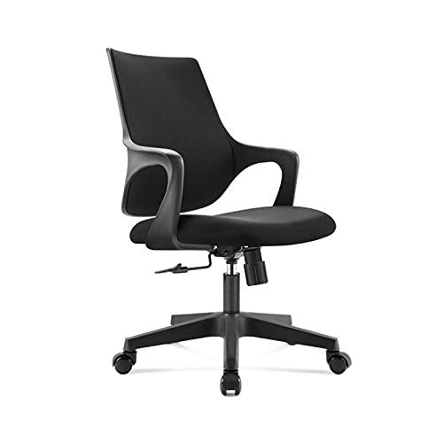 H-W-Hhui Sillas de ordenador dormitorio, puede girar 360 ° de elevación de sillas de oficina Maestro de escuela silla del personal adecuado for el hogar / negocio Tamaño: 50 * 44-54CM Silla de computa
