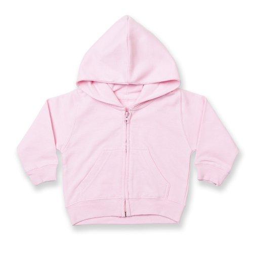 Larkwood Larkwood Baby/Kinder Sweatshirt Jacke (3-4 Jahre) (Hellrosa)