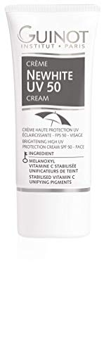 Guinot NEWHITE - Cream Brightening UV Shield SPF 50 Gesichtscreme, 1er Pack (1 x 15 ml)