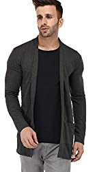 DENIMHOLIC Mens Casual Cardigan
