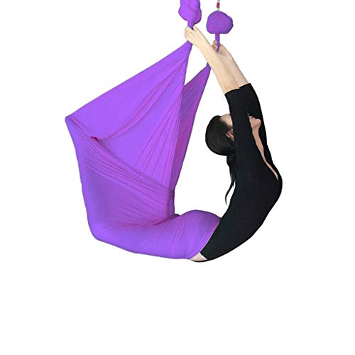 Sale!! CHANG XU DONG Aerial Yoga Hammock Kit - Premium Aerial Silk Yoga Swing Antigravity Yoga for Y...