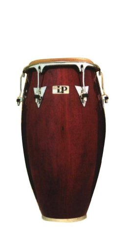 Latin Percussion LP Classic Model Wood 11-3/4 Conga - Rojo vino/cromo