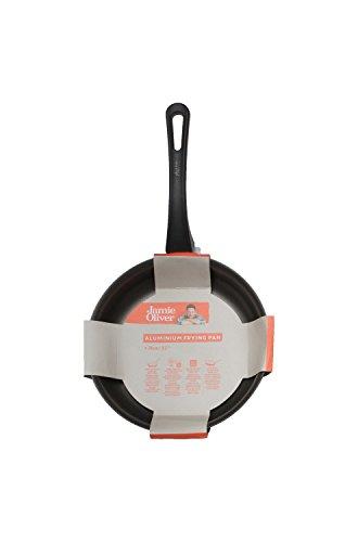 Jamie Oliver Bratpfanne 24 cm/Geeignet für Alle Herdarten inklusiv Induktion/Hergestellt aus Premium Aluminium mit dreischichtige Kratzfeste Antihaftbeschichtung (ILAG) / Spülmaschinegeeignet (24 cm)