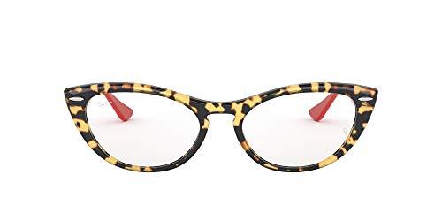 Ray-Ban 0RX4314V Monturas de gafas, Yellow Havana, 54 para Mujer